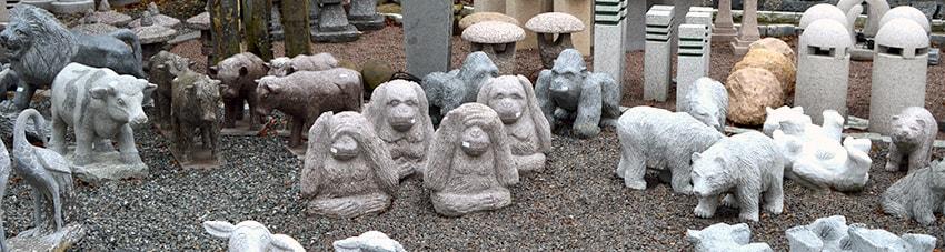 stenfigurer til haven