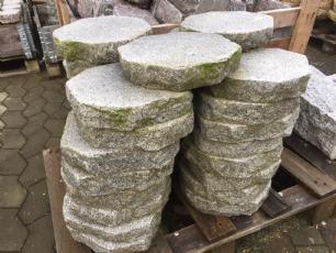 salg af 35 styk - trædesten grå granit