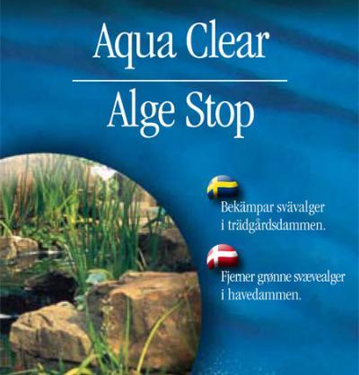 salg af Alge stop - Aqua Clean