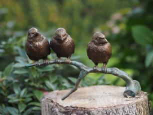 salg af 3 Sparrows on branch
