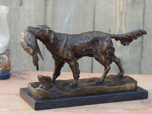 salg af Spor hund figur