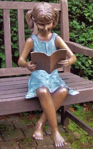 salg af Girl reading