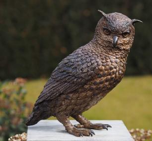 salg af Ugle i Bronze