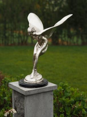 salg af Silver plated flying lady