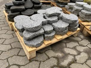 salg af REST Bedsten lysgrå granit kløvet