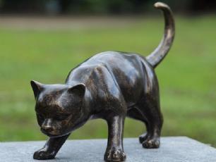salg af Stor bronze kat