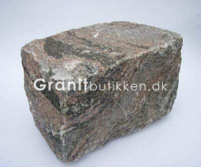 salg af Brosten i granit til bålplads