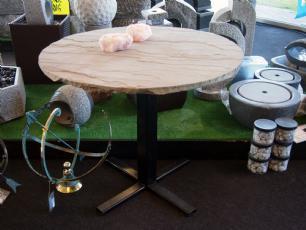 salg af Cafébord med grå skifer bordplade