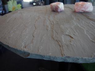 salg af Cafébord med sort skifer bordplade