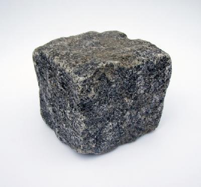 salg af Chaussésten i blå Rønne granit