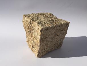 salg af Chaussesten gul granit, kløvet