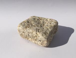 salg af Chaussesten gul granit, tromlet
