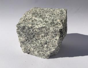 salg af Chaussésten lys grå granit