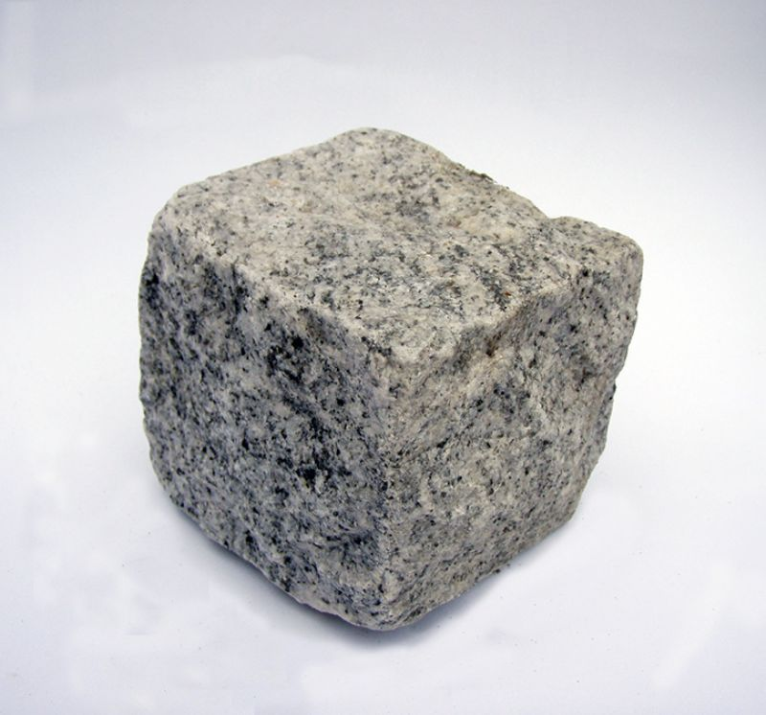 Topnotch Køb Chaussésten grå indisk granit Topbehandlet jævn overflade QA23