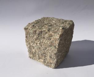 salg af Chaussesten rosa granit, kløvet