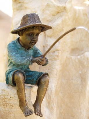 salg af Fisherman fountain