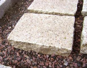 salg af Flise - Klosterhvede gul granit
