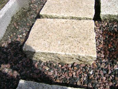 salg af Flise - Klosterhvede gylden granit