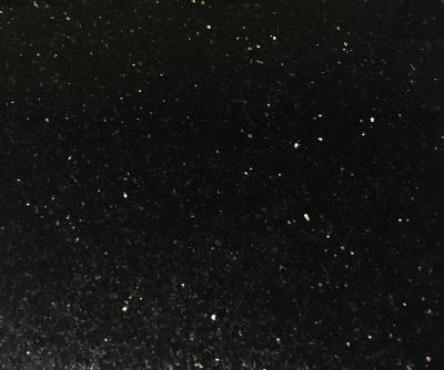 Granitflise, Black Galaxy, poleret overflade