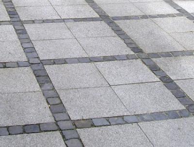 Granitfliser - Ude
