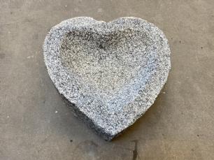 salg af Fuglebad hjerte gr�sort
