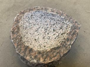 salg af Fuglebad i rød granit