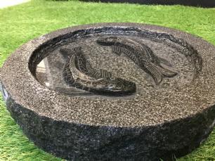 salg af Fuglebad med polerede fisk