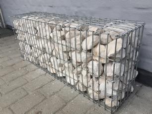 salg af Gabion Tipo 16 med sten