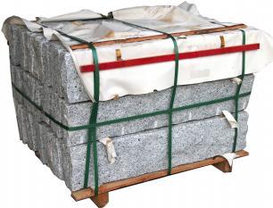 salg af 30 stk grå granitkantsten