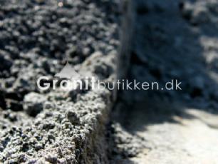 salg af Farveprøve på gråsort stenmel i granit