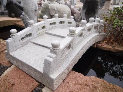 salg af Granit bro m/gærde