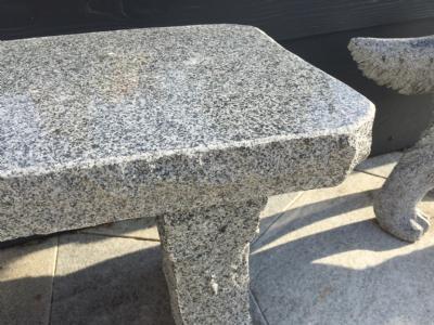 salg af Granit havebænk Buet