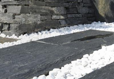 Granit kunst til haven