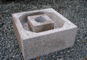salg af Granit kar til vandsten