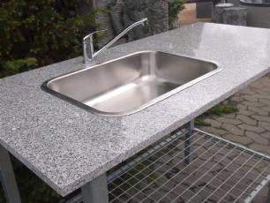 salg af Granit udekøkken