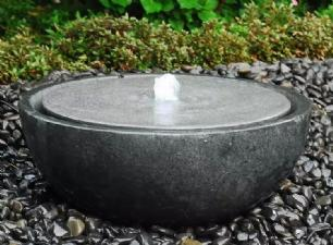 """salg af Granit vandsten """"Bowl lille"""" komplet vandreservoir"""
