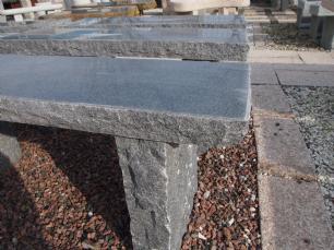 """salg af Granit haveb�nk model """"Gitte"""""""
