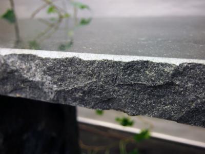 Gitte havebænk i granit