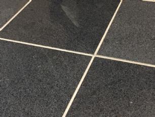 salg af Granitflise - gråsort poleret granit