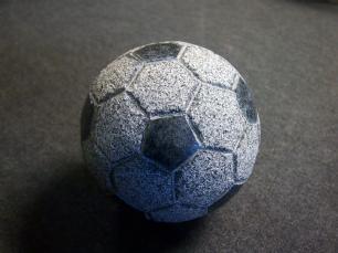 salg af Granitfodbold - Gråsort
