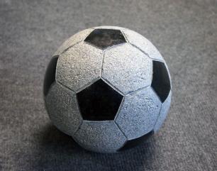 salg af Granitfodbold - Sort