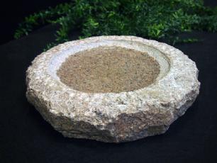 salg af Granitfuglebad - Rosa sten