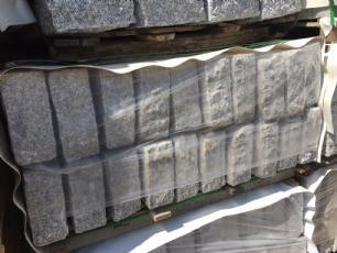 salg af Granitkantsten gr� 10x25x100 cm