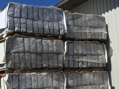 salg af Granitkantsten grå 10x25x100 cm