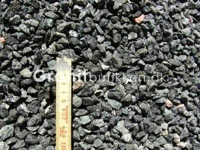 Sorte granitskærver