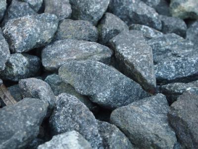 salg af Granitskærver - Sprængstykker sort