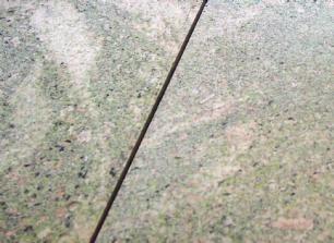 salg af Green rose granit flise