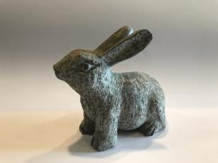 salg af Hare - kanin i blå granit