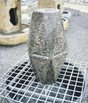 """salg af Komplet vandsten i granit """"Hexagonal"""""""