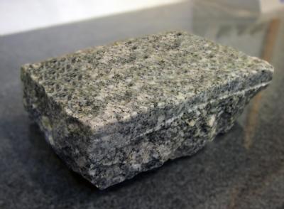 hvede i grå granit